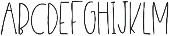 Desmond otf (400) Font LOWERCASE