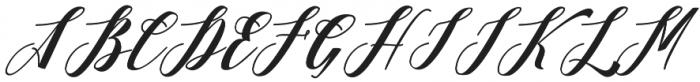 Desmont otf (400) Font UPPERCASE