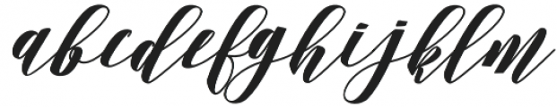 Desmont otf (400) Font LOWERCASE