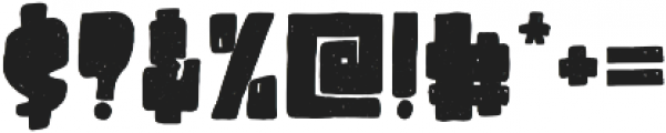 Destone Regular otf (400) Font OTHER CHARS