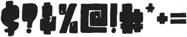 Destone Regular ttf (400) Font OTHER CHARS