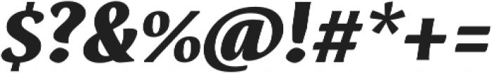 Destra Black Italic otf (900) Font OTHER CHARS