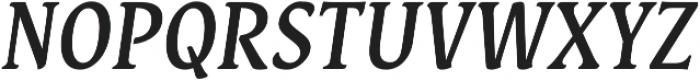 Destra Medium Italic otf (500) Font UPPERCASE