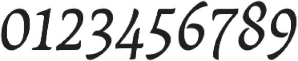 Destra Regular Italic otf (400) Font OTHER CHARS