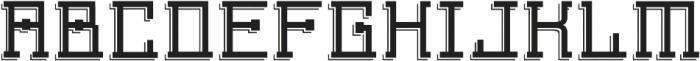 Detac Line otf (400) Font UPPERCASE