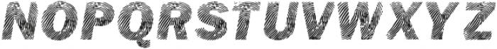 Detective Bold Italic otf (700) Font UPPERCASE