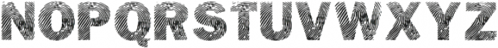 Detective Bold otf (700) Font UPPERCASE