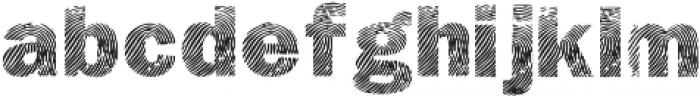 Detective Bold otf (700) Font LOWERCASE