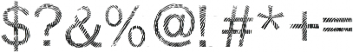 Detective Regular otf (400) Font OTHER CHARS