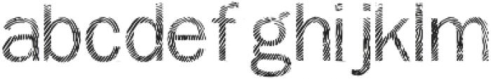 Detective Regular otf (400) Font LOWERCASE