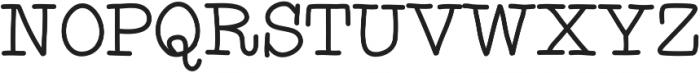 Detective ttf (400) Font UPPERCASE