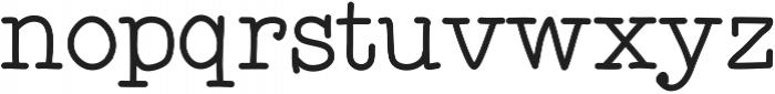 Detective ttf (400) Font LOWERCASE