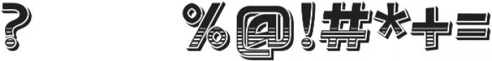 Detroit Decor 1 otf (400) Font OTHER CHARS