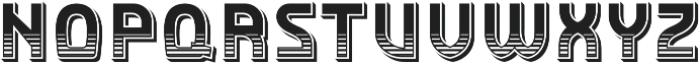 Detroit Decor 1 otf (400) Font UPPERCASE