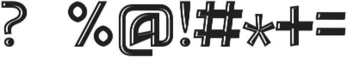 Detroit Decor 2 otf (400) Font OTHER CHARS