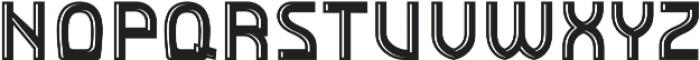 Detroit Decor 2 otf (400) Font UPPERCASE