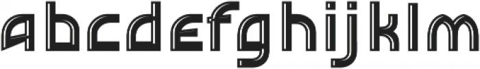 Detroit Decor 2 otf (400) Font LOWERCASE