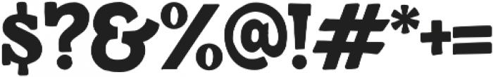 Detroit Regular otf (400) Font OTHER CHARS