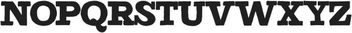 Detroit Regular otf (400) Font UPPERCASE