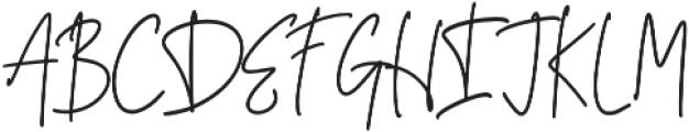 Dettachment otf (400) Font UPPERCASE