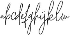 Dettachment otf (400) Font LOWERCASE