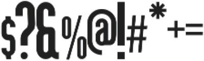 Devant Medium ttf (500) Font OTHER CHARS