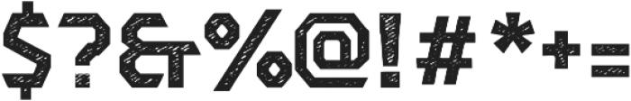 Dever Sans Jean Bold otf (700) Font OTHER CHARS