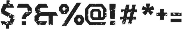 Dever Sans Rough Bold otf (700) Font OTHER CHARS