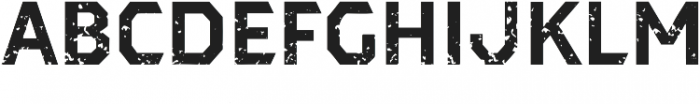 Dever Sans Rough Bold otf (700) Font UPPERCASE
