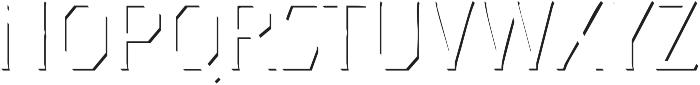 Dever Serif Accent Light otf (300) Font UPPERCASE