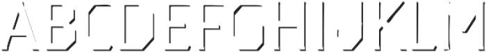 Dever Serif Accent Light otf (300) Font LOWERCASE