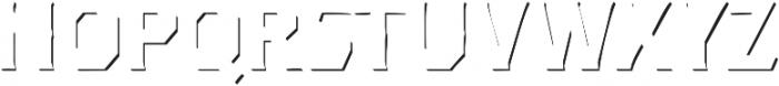 Dever Serif Accent Medium otf (500) Font UPPERCASE