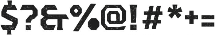 Dever Serif Halftone Bold otf (700) Font OTHER CHARS