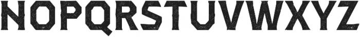 Dever Serif Halftone Bold otf (700) Font UPPERCASE