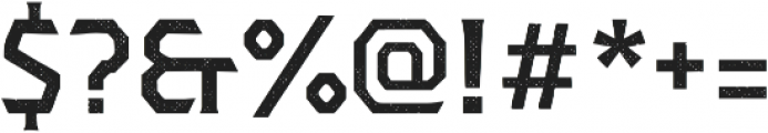 Dever Serif Halftone Medium otf (500) Font OTHER CHARS