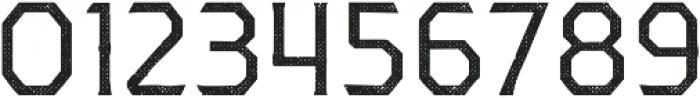 Dever Serif Halftone Regular otf (400) Font OTHER CHARS