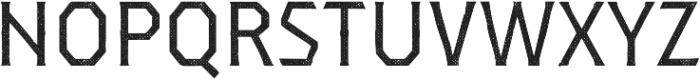 Dever Serif Halftone Regular otf (400) Font UPPERCASE