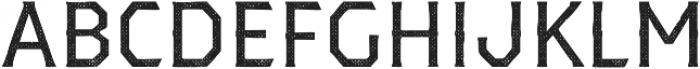 Dever Serif Halftone Regular otf (400) Font LOWERCASE