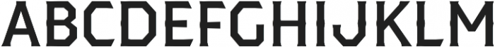 Dever Serif Medium otf (500) Font UPPERCASE