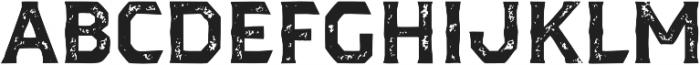 Dever Serif Print Bold otf (700) Font UPPERCASE