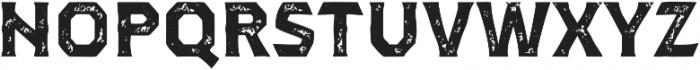 Dever Serif Print Bold otf (700) Font LOWERCASE