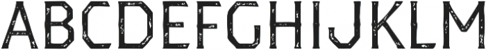 Dever Serif Print Regular otf (400) Font UPPERCASE