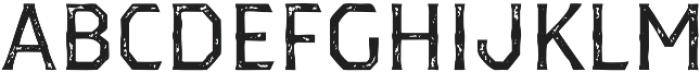 Dever Serif Print Regular otf (400) Font LOWERCASE