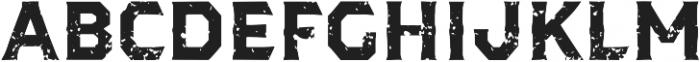 Dever Serif Rough Bold otf (700) Font LOWERCASE