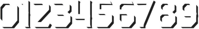 Dever Serif Shadow Regular otf (400) Font OTHER CHARS