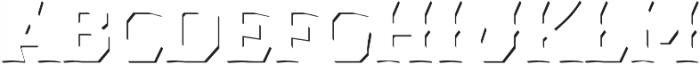 Dever Wedge Accent Medium otf (500) Font UPPERCASE