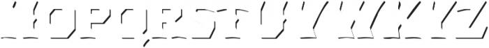 Dever Wedge Accent Medium otf (500) Font LOWERCASE