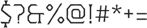 Dever Wedge Halftone Light otf (300) Font OTHER CHARS
