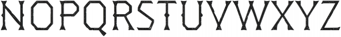 Dever Wedge Halftone Light otf (300) Font LOWERCASE