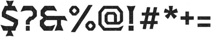Dever Wedge Halftone Medium otf (500) Font OTHER CHARS